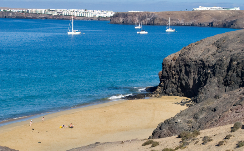 Playas de Papagayo – Playa del Pozo